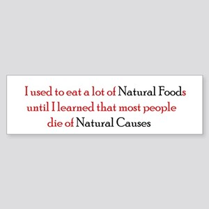Natural Foods Sticker